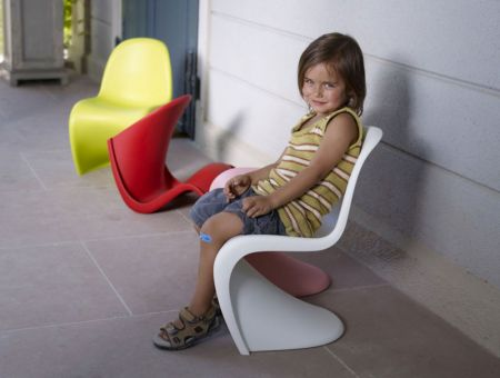 Panton Chair Junior, Kinderstuhl, Verner Panton © Foto by vitra
