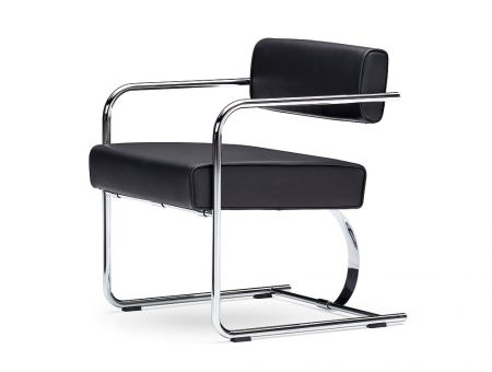 Cantilever-Chair (Stahlrohr, Loungesitzhöhe) - Richard Neutra Collection by VS; © Foto: VS