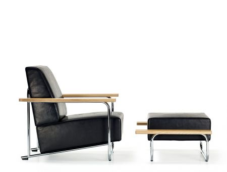 Lovell Easy Chair + Ottoman (Steel) - Richard Neutra Collection by VS; © Foto: VS